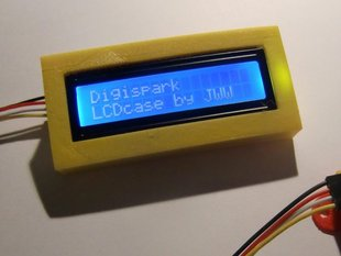 Digispark serial LCD case