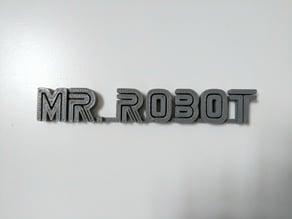 Mr. Robot Logo