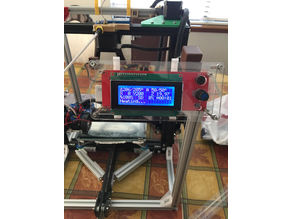 LCD angled display for 2020 mount
