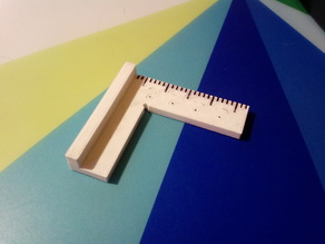 Customizable Square ruler