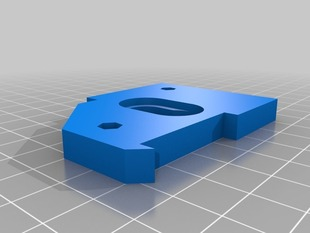 MGS Groovemount for Prusa i3