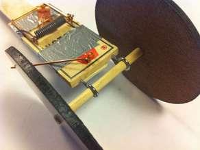 Mousetrap Powered Car (wheels)
