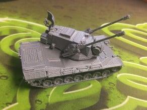 Flakpanzer Gepard 1:100 - Easier Turret Print