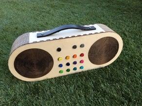 Wooden Radio (MP3 Player for Children)