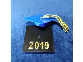 graduation cap 2019 3 inch
