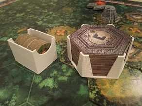 Tikal (Super Meeple Edition) - Range tuiles & trésors