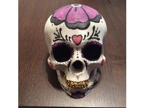 Blank Skull for Halloween