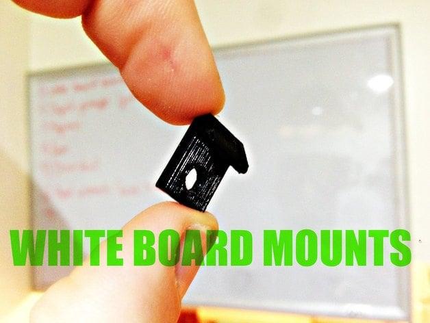 Dry Erase Board Mounting Bracket By Neatherbot Thingiverse