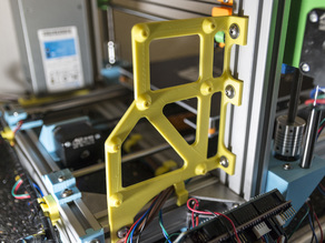 Anet AM8 RAMPS1.4 + Raspberry Pi 2 and 3 holder bracket 2020, 2040