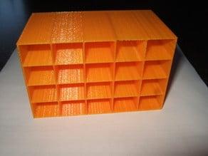 Resistor Box, Box für elektronische Bauteile
