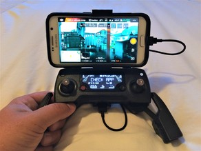 Mavic Samsung S6 with Otterbox holder