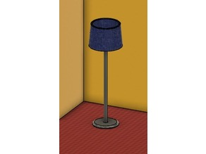 Doll house stuff - lamp