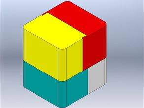 Lap joint box