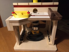 Router table for Dewalt D26204-QS  CNC and 3D print