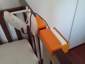 Oricom SC710 Baby Monitor Cot Mounting.