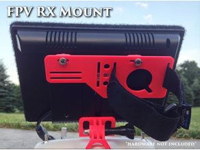 FPV RX and Battery mount