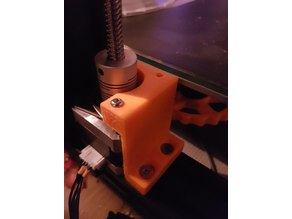 CR-10 Adjustable Z-axis stepper + damper bracket