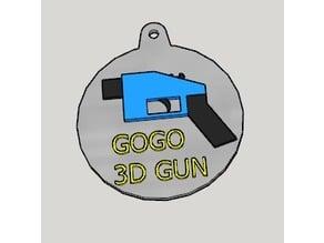 3D Gun Propaganda Key Holder