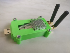 LimeSdr Mini Case with holes for heatsinks