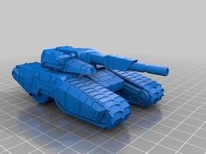 GDI Predator Tank of CNC 3