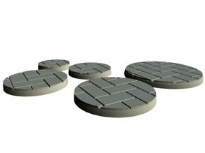 Flagstone Bases (15mm scale)