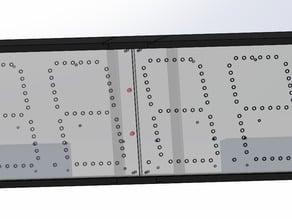 Seven Segment LED Race Clock