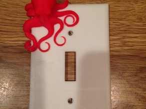 Dual Color Octopus Switch Plate