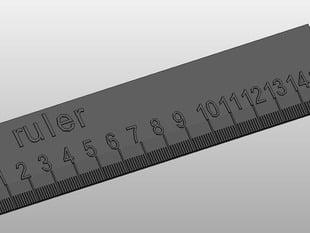 Customizable ruler