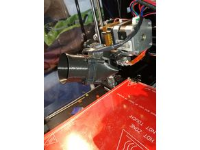 """""""Geeetech prusa i3 40mm extruder cooling fan duct"""