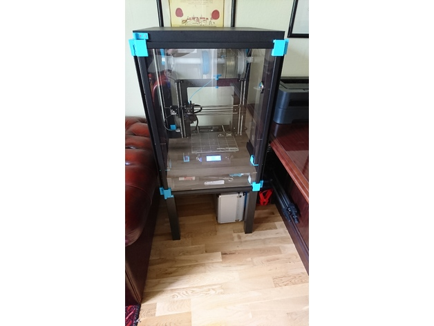 Ikea Lack Cabinet For 3d Printer And Other Things Or Machines By