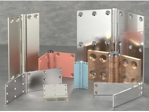 4 Door hinges Collection/Configurator