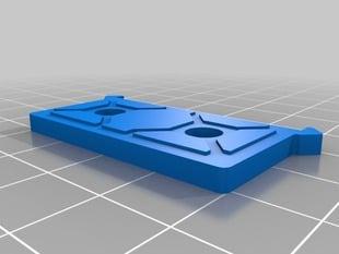 Makerslide end cap and filament feeder