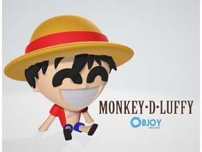 Monkey D Luffy - by Objoy Creation