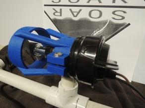 ROV Bilge Pump Thruster Mount