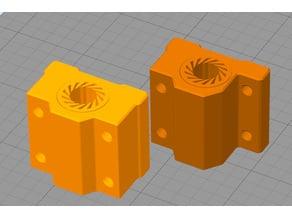 Bearing blocks incl. 8mm bearing (LM8UU) (Anet A8/A6, Wanhao duplicator i3 etc)