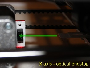 3Drag / K8200 - Optical end stop for X, Y and Z axis