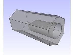 Omnidirectional 38mm Wheel Hexagonal Adapter