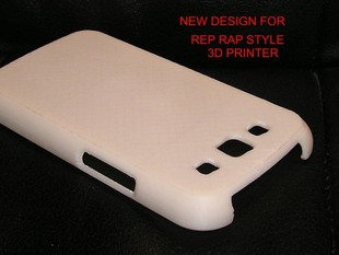 Galaxy S3 Phone Case - Fixed for Better Rep Rap Printing