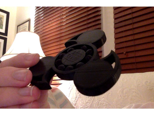 Fully 3d Printed Fidget Spinner By Trobb13