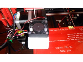 CTC Prusa I3 Pro B Active Cooler Improved Version  (Custon Position)