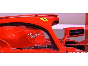 OpenRC F1 SF71H rear view mirrors
