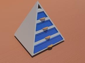 pyramid drawers
