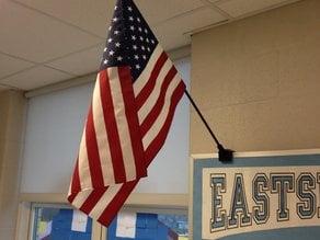Over the Bulletin Board Flag Holder