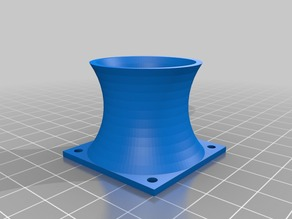 Nuclear Cooling Tower 40 mm Fan Cover