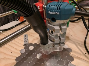 MPCNC Dust boot for Makita RT0700CX router