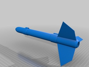 ZF 3  The 100% 3D Printed Rocket
