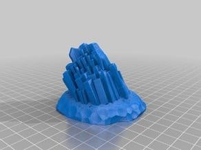 Cube Crystal Scifi/Fantasy Wargame terrain