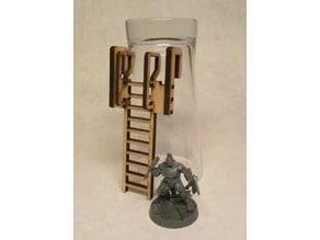 Ladder 8cm for 3mm laser cut MDF #1