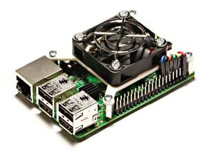 Raspberry Pi 40mm Fan Mount