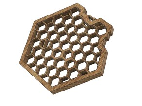Hexagon Art (beehive)